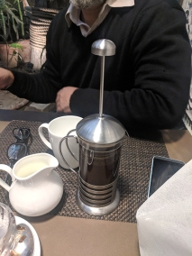 Cafe Lota, Coffee