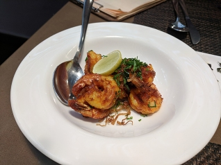 Cafe Lota, Sandeep's Prawn Fry