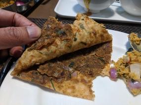 Cafe Lota, Sattu Paratha Stuffing