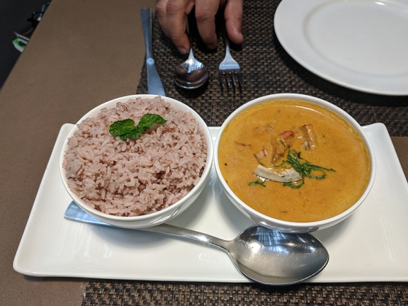 Cafe Lota, Toddy Shop Fish Curry, Red Rice