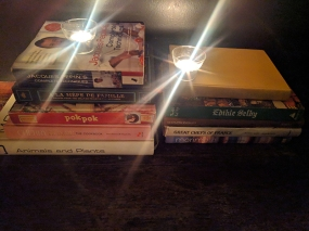 Has anyone ever done an analysis of the cookbooks restaurants leave lying around?