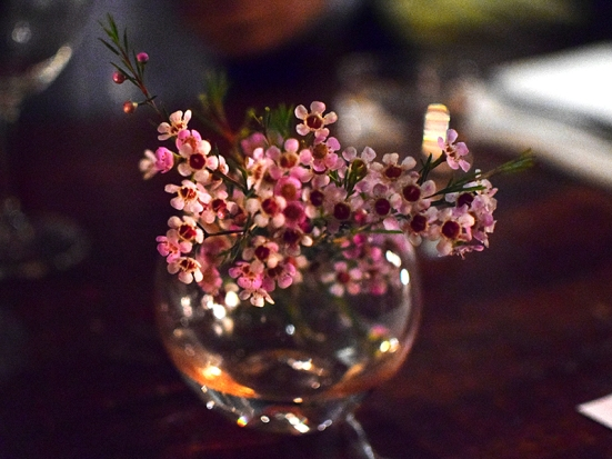 Grand Cafe, Flowers