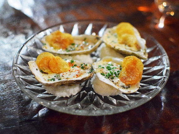 Grand Cafe, Grilled oysters