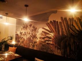 Grand Cafe, Wallpaper