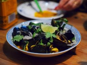 Hai Hai, Steamed mussels
