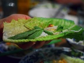 Hai Hai, Sugarcane shrimp wrap