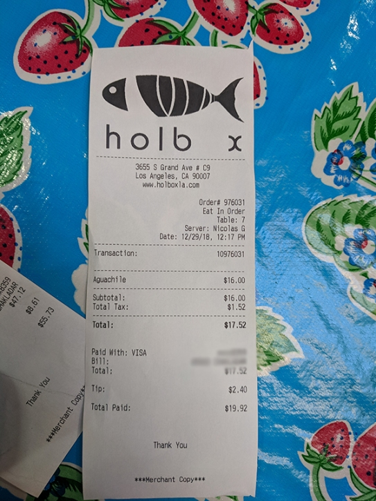 Holbox, Second order