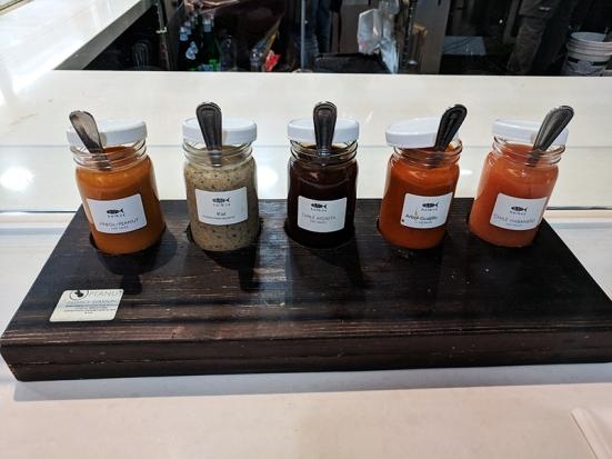 Holbox, Sauces