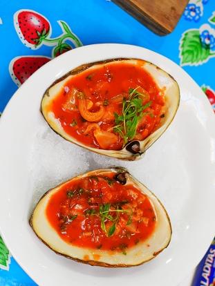 Holbox, Surf clam
