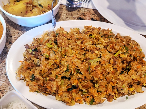 House of Curry III, Lamb kottu