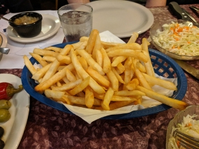 Ranchero Supper Club, French fries