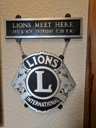 Ranchero Supper Club, Lions Meet Here