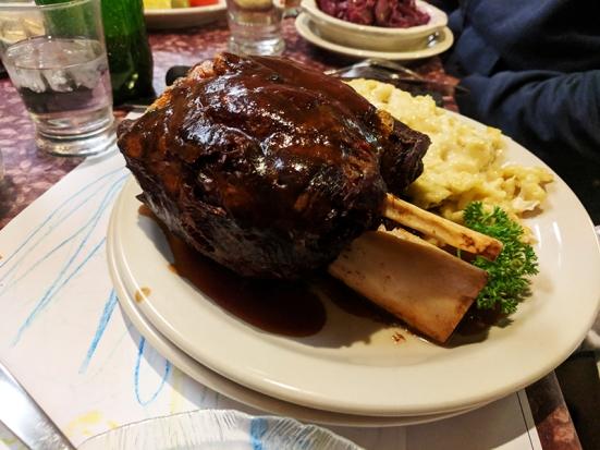 Ranchero Supper Club, Smoked pork shank