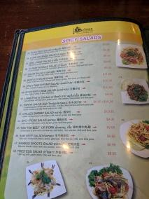 Ruen Pair, Spicy Salads