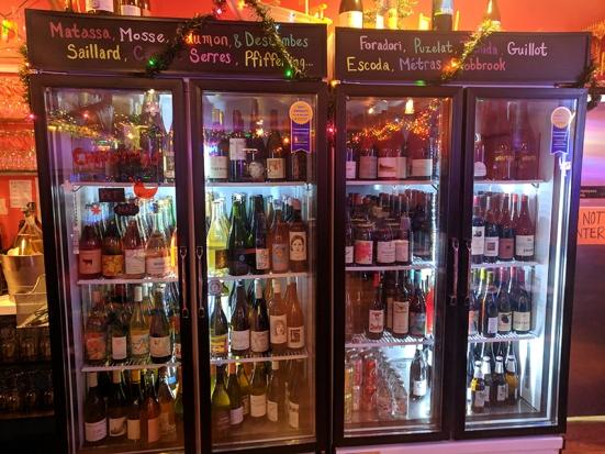 Sahm, Beer and wine cooler