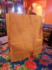 Sahm, Leftovers bag