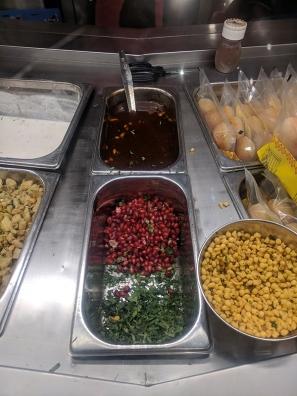 Bikanervala, Chaat toppings