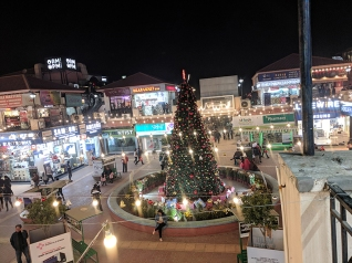 Christmas is big business in Delhi even though Christians are a small minority and even though Hindu fundamentalists are not crazy about Christians either.