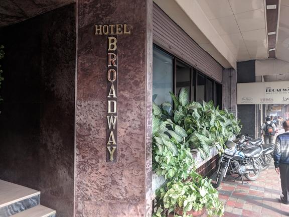 Chor Bizarre, Hotel Broadway