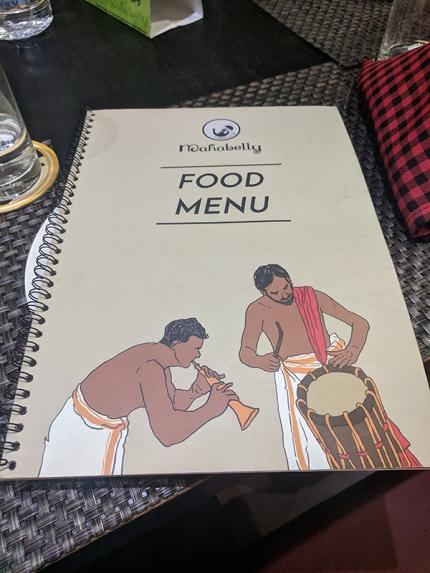 Mahabelly 2018, Food Menu
