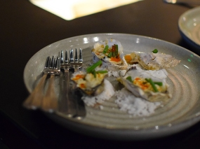 Popol Vuh, Grilled oysters