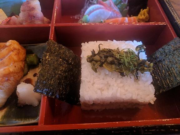 Raku, Dec 2018, Bento6