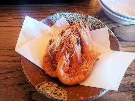 Raku, Dec 2018, Fried Shrimp