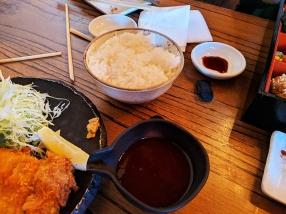 Raku, Dec 2018, Sauce and rice