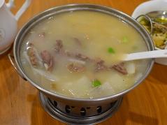 Rui Ji Sichuan, Lamb soup in pot