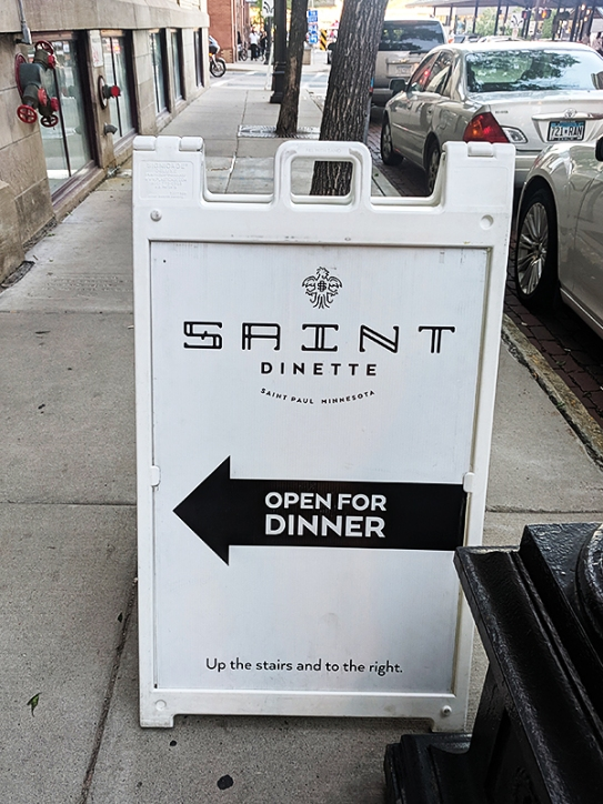 Saint Dinette, Open for Dinner