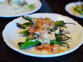 Saint Dinette, Shishito peppers