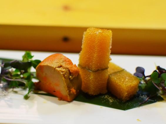 Shin Sushi, Ankimo, Herring roe