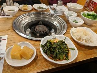Ahgassi Gopchang, Banchan1