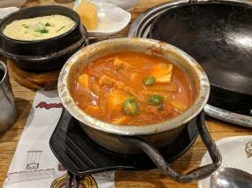 Ahgassi Gopchang, Kimchi jigae
