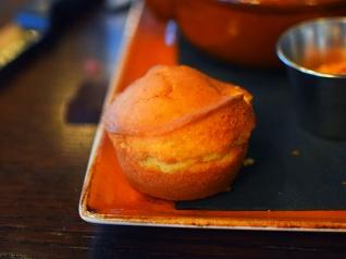 Handsome Hog, Corn muffin