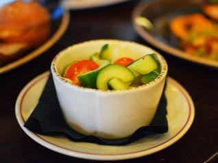 Handsome Hog, Cucumber salad