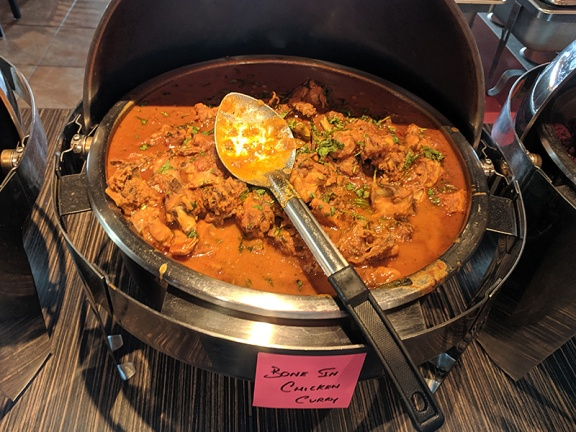 Hyderabad Indian Grill, Chicken curry