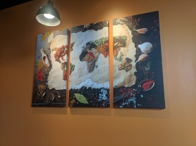 Hyderabad Indian Grill, Decor3