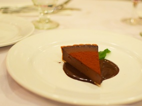 L'Express, Chocolate tart
