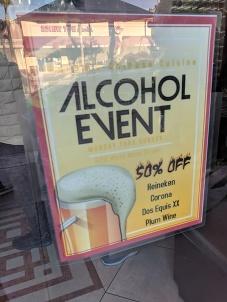 Big discounts on crappy beer!