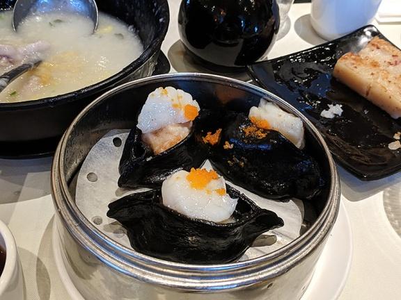 Lunasia, Scallop dumpling with squid