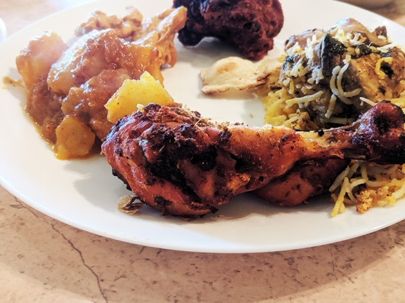 Surabhi, Tandoori chicken