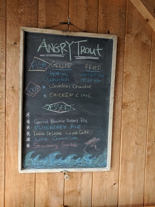 Angry Trout, Board