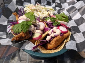 Angry Trout, Fish tacos