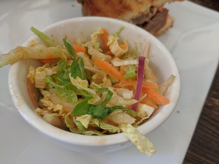 Crooked Spoon, Spicy slaw
