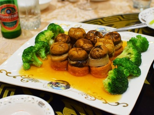 Crown Princess, Braised tofu with mushroom