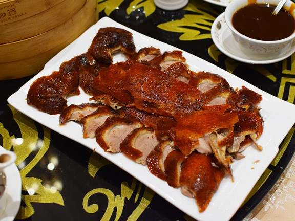 Crown Princess, Peking duck, sliced
