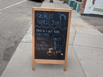 Golden Horseshoe II, Come in & Get your Dan Dan