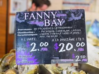 La Boite Aux Huitres, Fanny Bay