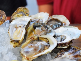 A little sweet, a little briny. From Prince Edward Island.